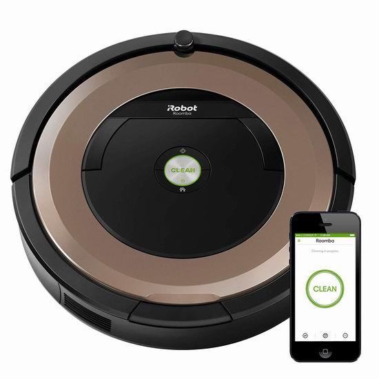 历史新低!iRobot Roomba 895 Wi-Fi 蓝牙智能扫地机器人6.7折 419.99加元包邮!会员专享!