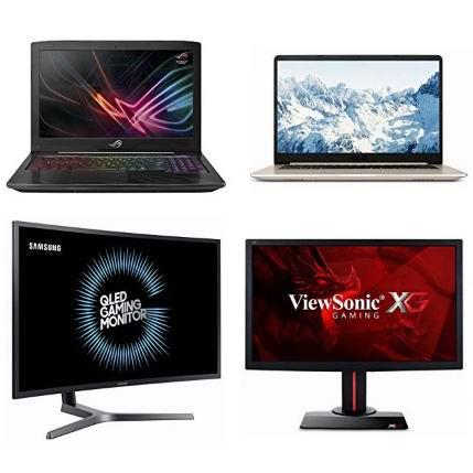 精选多款 Acer、HP、Asus、Samsung 等品牌笔记本电脑、游戏笔记本、电竞显示器、曲面显示器等5.9折起!会员专享!