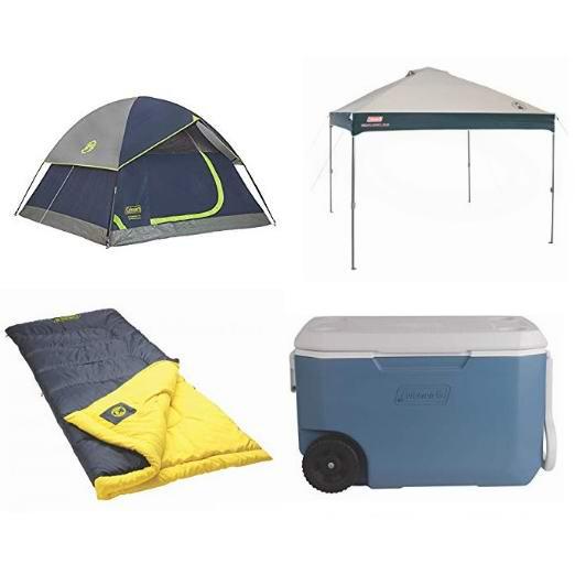 精选 Coleman 帐篷、睡袋、绝热保温箱、遮阳棚、便携桌、防蚊头罩、登山杖等特价销售,额外8折!会员专享!