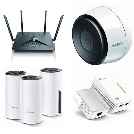 精选 TP-Link、D-Link、NETGEAR、Google 等品牌无线路由器、网格WiFi系统、室外监控摄像头、电力猫、交换机等4.5折起!会员专享!