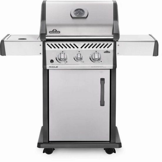 历史新低!Napoleon R365SBPSS Rogue 365 欧式不锈钢燃气BBQ烧烤炉 599加元包邮!