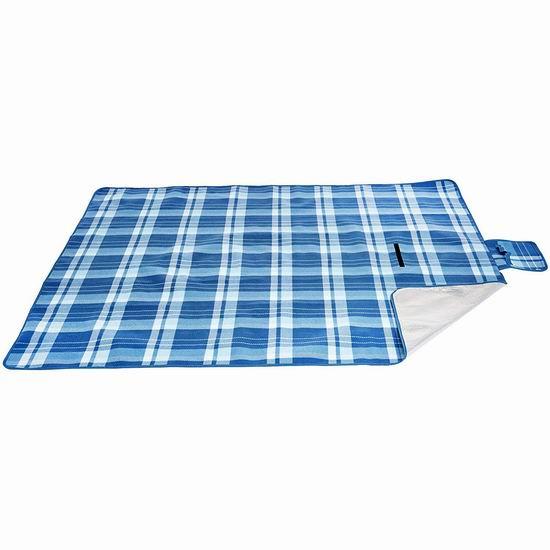 历史新低!AmazonBasics 便携式户外防水野餐垫/睡垫 12.52加元!