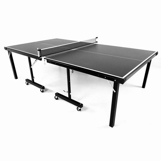 售价大降!Stiga T8288 Insta 娱乐级室内乒乓球桌4.7折 475.57加元包邮!