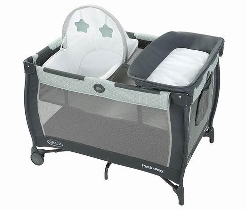 近史低价!Graco Pack 'N Play婴儿多功能豪华游戏床 149.99加元,原价 199.99加元,包邮