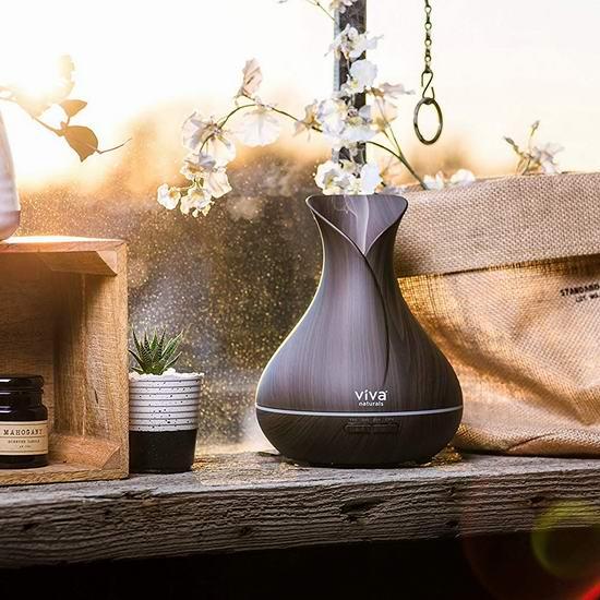 金盒头条:历史新低!精选4款 Viva Naturals 木纹加湿器5折起!