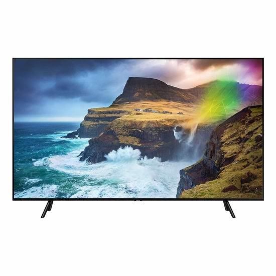 历史新低!新品 Samsung 三星 Q70R 82英寸 4K超高清 QLED 量子电视7.5折 3998加元包邮!