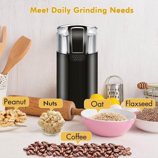 历史新低!Homitt 咖啡豆/香料研磨机4.8折 14.39加元!