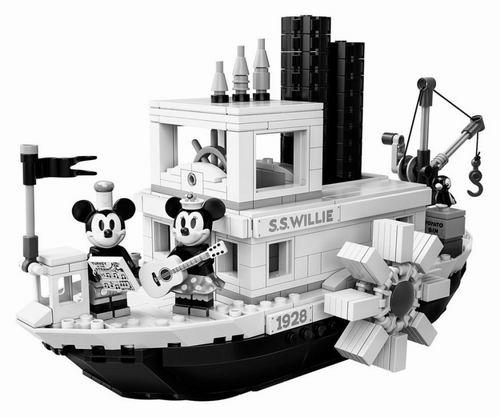 LEGO 乐高 21317 《汽船威利号》迪士尼迷必收 米奇90周年特别版  119.99加元热卖!