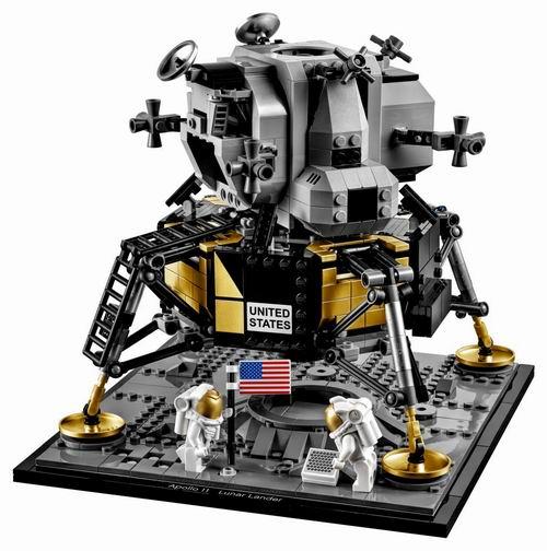 LEGO 乐高 10266 纪念阿波罗登月50周年 139.99加元热卖!