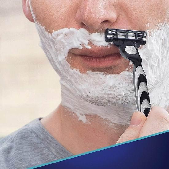 历史新低!Gillette 吉列 Mach3 锋速3 突破 剃须刀替换刀头15件套 26.76加元!