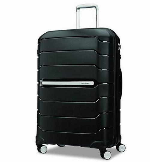 Samsonite 88384-1041 Freeform  黑色大号拉杆箱 137.18加元,原价 700加元,包邮