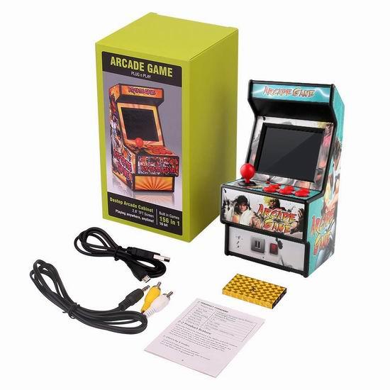Golden Security RHAC01 156合一 复古游戏机 迷你街机 33.98加元限量特卖并包邮!