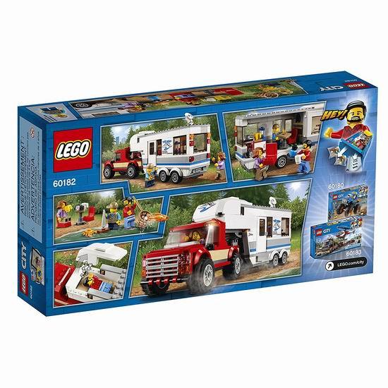 金盒头条:历史新低!LEGO 乐高 城市系列 60182 亲子野营房车(344pcs)6折 23.98加元!