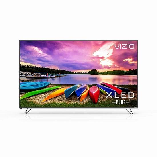 手慢无!历史新低!VIZIO M70-E3 70寸 4K超高清LED智能电视3.6折 999.97加元!