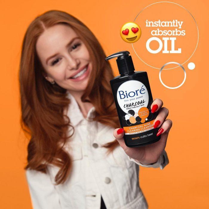 Bioré 碧柔 Charcoal Acne 活性炭清洁啫喱洗面奶 200毫升 7.97加元  去油去黑头抗青春痘