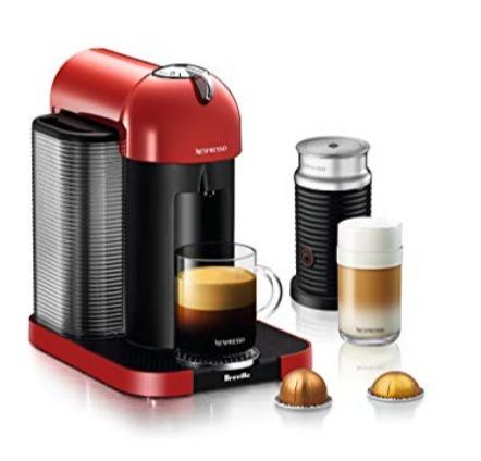 Nespresso Vertuo胶囊咖啡机+奶泡机 219.99加元起(4色),原价 319.99加元,包邮