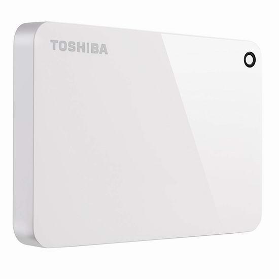 历史新低!Toshiba 东芝 Canvio Advance 2TB 超便携移动硬盘 56.5加元包邮!会员专享!