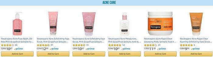 Amazon精选大量美体护肤品、防晒霜、沐浴液、卫生巾、婴幼儿洗浴用品、各种常备药品、创可贴、漱口水、消炎软膏、眼药水等特价销售,满35加元立省10加元+包邮!会员专享!