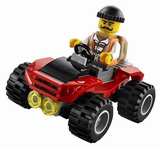 历史新低!LEGO 乐高 60139 城市系列 移动指挥中心(374pcs)6.5折 39加元包邮!