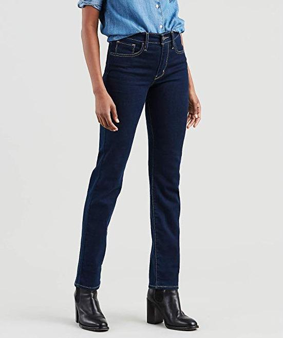 Levi's 李维斯 724 女士高腰牛仔裤 27.29加元