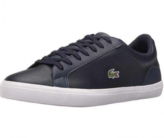 Lacoste Lerond男士休闲鞋 59.24加元(7.5码),原价 115.27加元,包邮