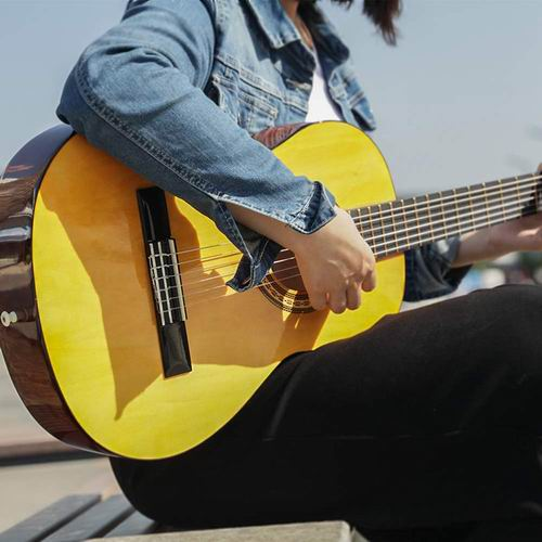 HUAWIND 全尺寸 39英寸古典吉他 84.99加元限量特卖,原价 99.99加元,包邮
