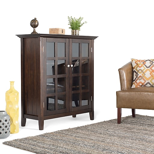 最后机会!精选 Simpli Home 品牌电视柜、收纳凳、门厅凳、办公桌、镜子等家具3.2折 97加元起优惠!