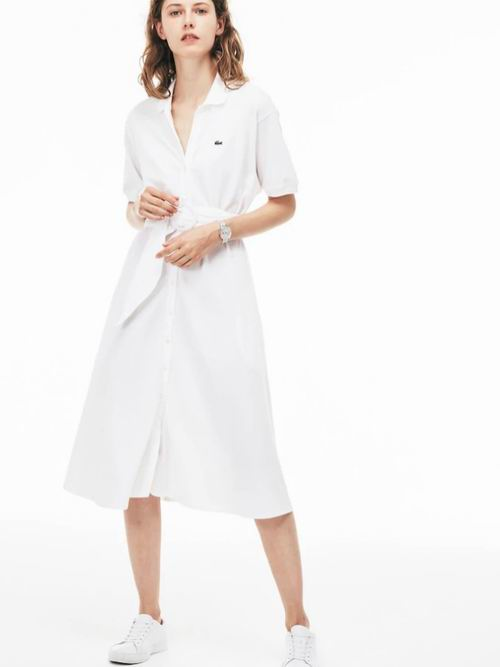 Lacoste 法国鳄鱼精选女士 Polo衫连衣裙、T恤、卫衣、手提包、运动鞋 5折起优惠!内有单品推荐!