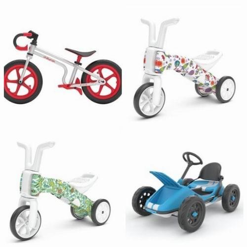 Chillafish 儿童平衡车、自行车、可折叠踏板卡丁车 7.5折优惠!内有视频介绍!