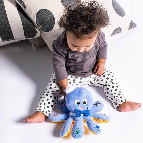 Baby Einstein 小章鱼毛绒音乐玩具 18.67加元,原价 22加元