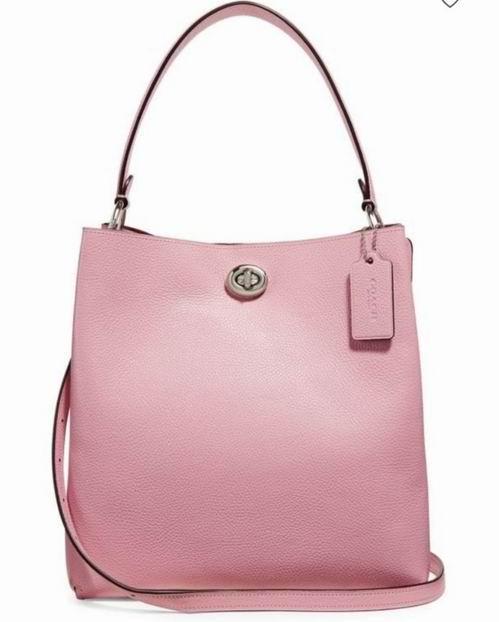 Coach 新款粉色水桶包 237.6加元,原价 495加元,包邮