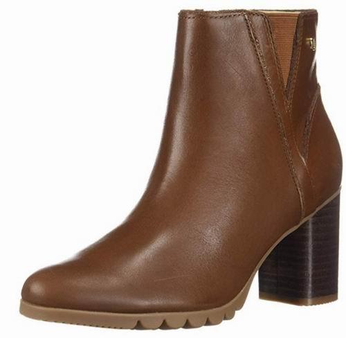Hush Puppies Spaniel女士粗跟短靴 60.25加元(7码),原价 143.24加元,包邮