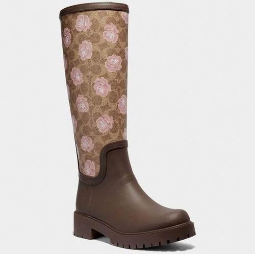 Coach 女士印花雨靴 52.5加元,原价 175加元