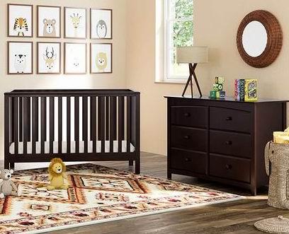 历史新低!Storkcraft Hillcrest 四合一 成长型婴儿床 170.4加元包邮!