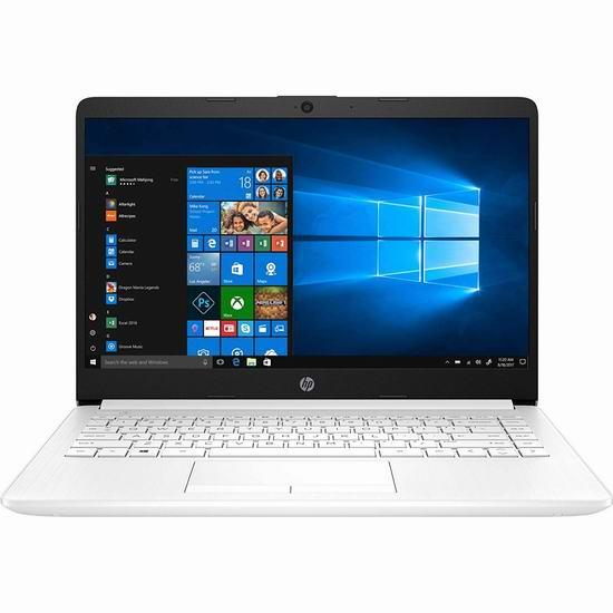 金盒头条:历史最低价!HP 惠普 14-dk0030ca Stream 14英寸轻薄笔记本电脑(4GB, 64GB ) 279.99加元包邮!送价值79加元一年Office 365个人版!