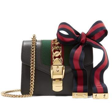大表姐、郑秀妍同款!超火 Gucci 古驰 Sylvie 提挎两用 链条少女包 2565加元包邮!