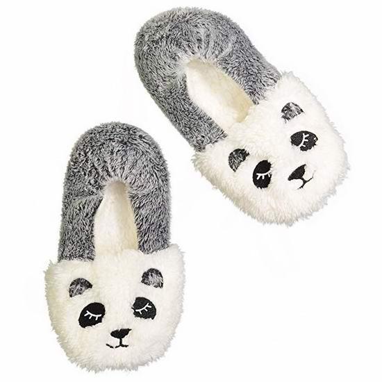 超可爱动物造型 Jacques Moret 女式毛绒保暖拖鞋 10.51加元起!11款可选!