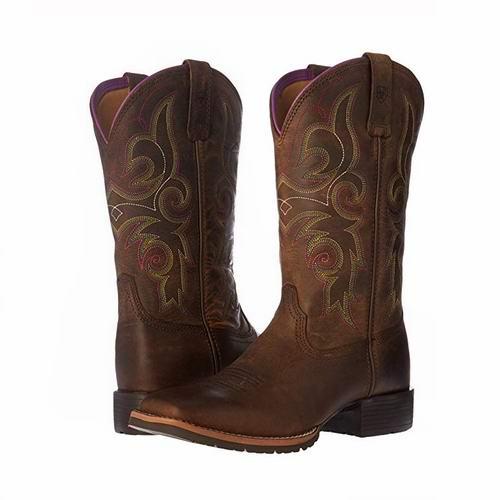 白菜价!Ariat Hybrid Rancher 女式复古美式马靴(6.5码)2.9折 65.99加元包邮!