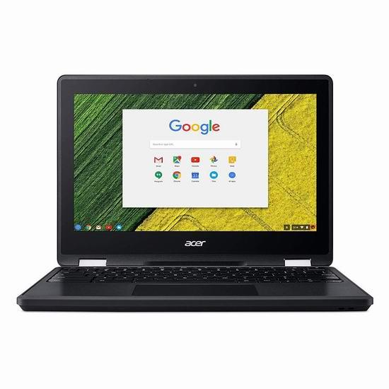 历史新低!Acer 宏碁 R751T-C8HR-CA  Spin 11.6寸 Chromebook 触控屏 笔记本电脑 341.23加元包邮!
