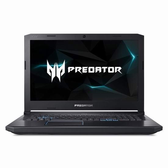 历史新低!Acer 宏碁 Predator 掠夺者 PH517-61-R0GX Helios 17.3英寸顶级游戏笔记本电脑6.5折 1840.53加元包邮!