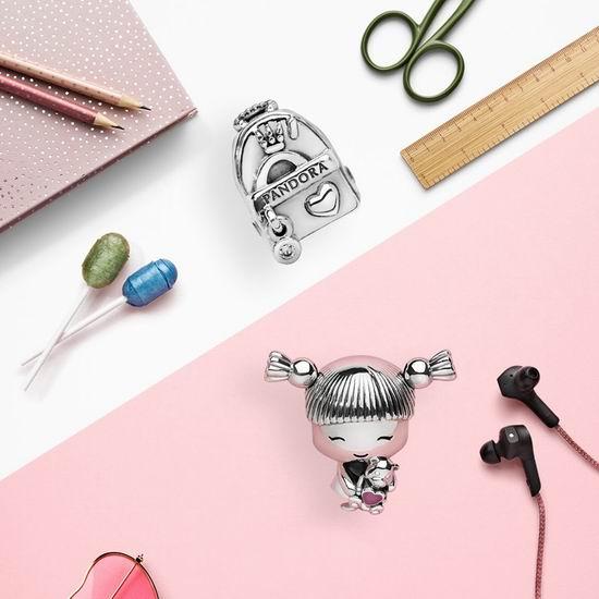 Pandora 潘多拉官网大促!全场手镯、串珠、戒指等精美首饰享7折优惠!
