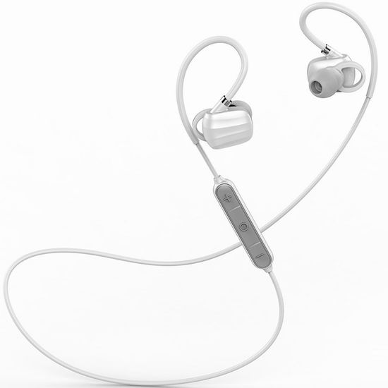 白菜速抢!历史新低!GGMM 古古美美 W710 智能降噪 无线蓝牙运动耳机1.8折 9.99加元清仓!2色可选!