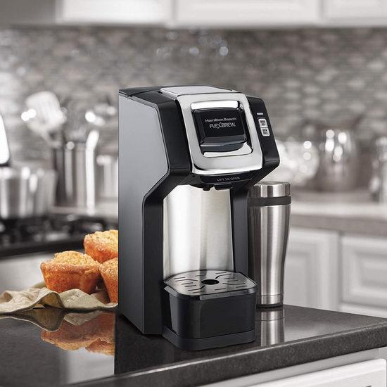 历史新低!Hamilton Beach 49979C FlexBrew 单杯咖啡机4.4折 39.99加元包邮!