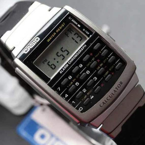 Casio 卡西欧 CA56-1 Databank 经典计算器 电子表6折 20.87加元!