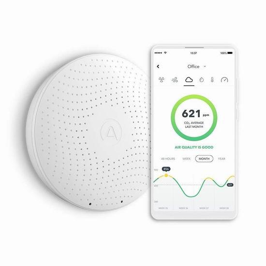 Airthings Wave Plus 智能空气质量检测仪 269.99加元包邮!
