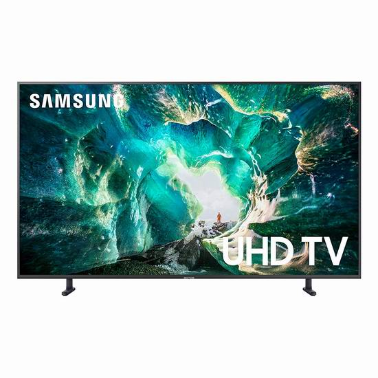 历史新低!Samsung 三星 RU8000 55英寸 4K超高清智能电视 897.99加元包邮!
