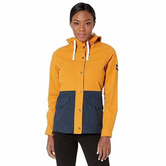The North Face Ridgeside Utility 女式连帽冲锋衣5折 74.98加元包邮!3色可选!