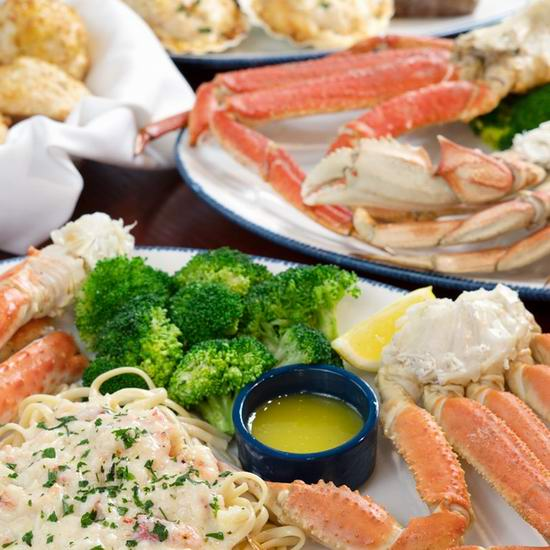 Red Lobster 红龙虾海鲜餐厅 双人就餐,立省5加元!