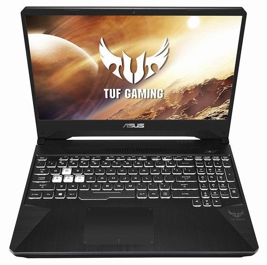 历史最低价!Asus 华硕 FX505DD-AB71-CA TUF 军标加固 17.3英寸游戏笔记本电脑(AMD Ryzen 7-3750H, GTX 1050, 8GB, 512GB SSD) 829.99加元包邮!