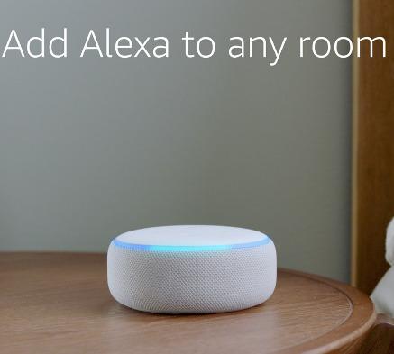 Echo Dot 亚马逊第三代智能家居语音机器人 29.99加元,原价 69.99加元